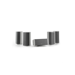NUMAN Ambience 5.0-Lautsprecher-System weiß inkl. 30m Lautsprecherkabel Lautsprechersystem