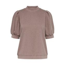 ONLY Kurzärmeliges Sweatshirt Damen Rot Female XS