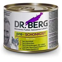 Dr Berg Dr. Berg Tiernahrung   pro-SCHONKOST mit Lachs Diät   Nassfutter   Katze