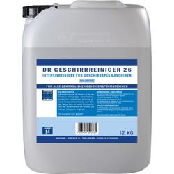 DR Gewerbe Spülmaschinenreiniger 26 chlorfrei, Intensivreiniger für Geschirrspülmaschinen, 12 kg - Kanister