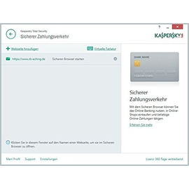 Kaspersky Lab Total Security 2018 1 Gerät 2 Jahre ESD DE Win Mac Android iOS