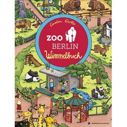 Zoo Berlin Wimmelbuch: Buch von