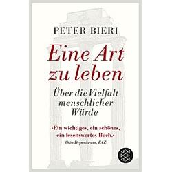 Eine Art zu leben. Peter Bieri  - Buch