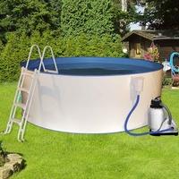 myPOOL Rundbecken-Set Safety 250 x 90 cm inkl. Sandfilteranlage