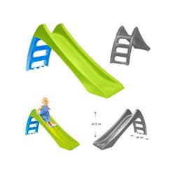 Mochtoys Rutsche Kinderrutsche, Wasserrutsche 11050, Rutschlänge 116 cm, Höhe 62,5 cm grün