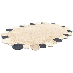 Teppich Sisalteppich Teppich Boldo, morgenland, oval, Höhe 6 mm 120 cm x 180 cm x 6 mm