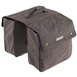 Doppelpacktasche für Gepäckträger grau