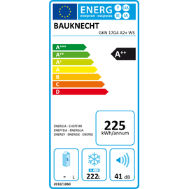 Bauknecht GKN 17G4 A2+ WS