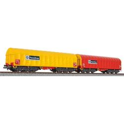 Liliput L230153 H0 2er-Set Coiltransportwagen  ThyssenKrupp
