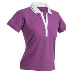 Elastic Poloshirt | James & Nicholson lila XXL