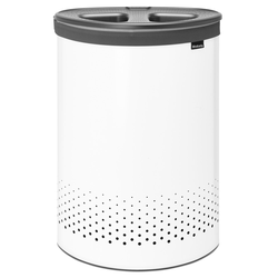 Brabantia 55-Liter-Wäschebox, Weiß