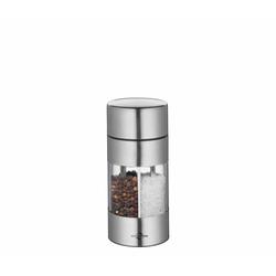 Küchenprofi Salz und Pfeffermühle Trattoria aus Edelstahl 1 Stück