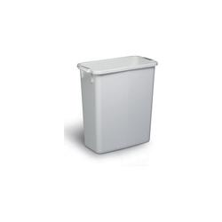 Durable Abfalltonne DURABIN 60 Liter weiß