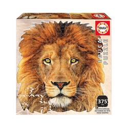 Educa Puzzle Shape Puzzle Lion Face, 400 Teile, Puzzleteile