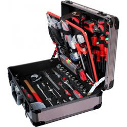 Tixit Alu-Werkzeugkoffer Mechaniker 120-teilig 60600