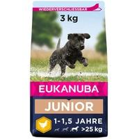 Eukanuba Junior Large Breed Huhn Hundefutter 3 kg