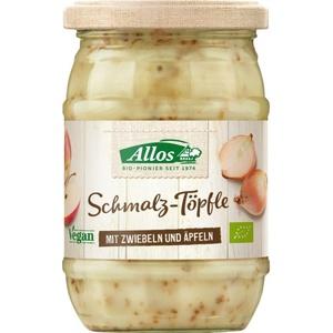 Allos Schmalz-Töpfle mit Zwiebeln und Äpfeln bio 250g