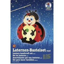 Laternen-Bastelset 40 'Marienkäfer'