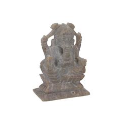 Guru-Shop Buddhafigur Ganeshafigur aus Speckstein, Ganesha Skulptur -..