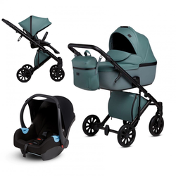 Anex e/type 3 in 1 Kinderwagenset 2020 (9 Farben) Aqua