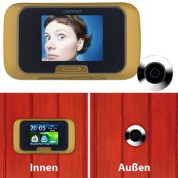 Digitale Türspion-Kamera mit manueller Foto- und Videoaufnahme
