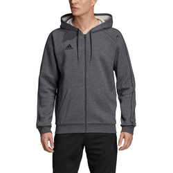 Adidas Herren Sweatjacke Core18 FZ Hoody - L