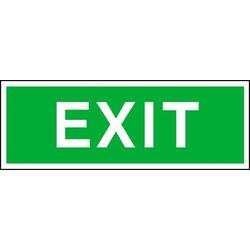 Fluchtwegschild Exit (B x H) 300mm x 105mm 1St.