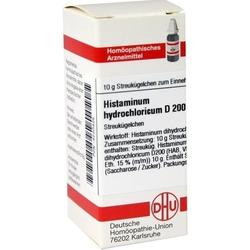 HISTAMINUM hydrochloricum D 200 Globuli 10 g