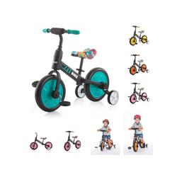 Chipolino Laufrad Dreirad, Laufrad 2 in 1 Max Bike 10 Zoll (25,40 cm) Zoll, 10 Zoll Räder, Pedale, Stützräder grün