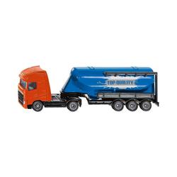 Siku Spielzeug-Auto LKW mit Siloauflieger 1:87