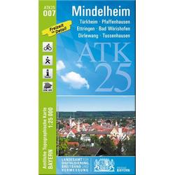 Mindelheim 1 : 25 000