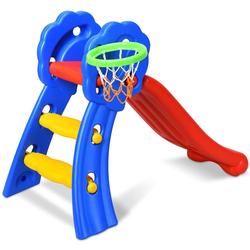 COSTWAY Basketballkorb Rutsche, mit Basketballkorb