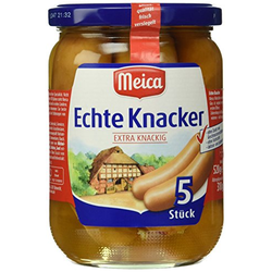 Meica echte Knacker extra Knackig, 6er Pack (6 x 310 g)