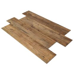 SPC Vinylboden PS13 Bodenbelag auf Vinyl Basis mit 4F Klick System 23x122cm Farbe Nussbaumbraun 2,78QM