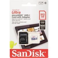 SanDisk Ultra Lite microSDXC UHS-I Klasse 10 - SDSQUNR-512G-GN6TA