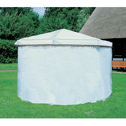 promadino Pavillon-Schutzhülle, für Pavillon Rosenheim, weiß