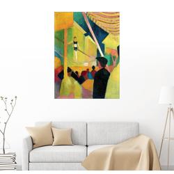 Posterlounge Wandbild, Seiltänzerin 70 cm x 90 cm