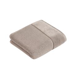 Vossen Handtuch Pure in urban grey, 50 x 100 cm