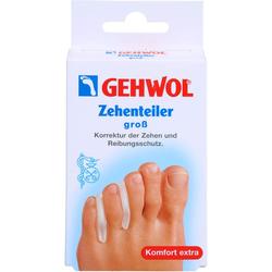 GEHWOL Polymer Gel Zehen Teiler groß 3 St.