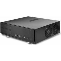 Antec NSK-2480B-EC Desktop 380W Schwarz Computer-Gehäuse (Desktop), PC Gehäuse