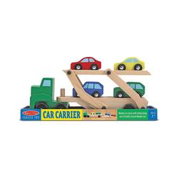 Melissa & Doug Spielzeug-Auto Autotransporter aus Holz
