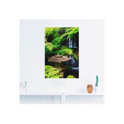 Artland Wandbild Japanische Laterne, Spa (1 Stück) 80 cm x 120 cm