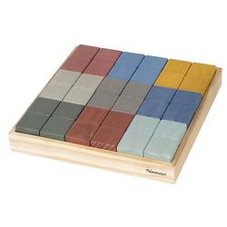 Bauklötze-Set Bausteine mehrfarbig