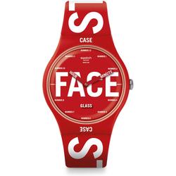 Swatch New Gent SWATCHID Bau Swatch SUOR115 Armbanduhr
