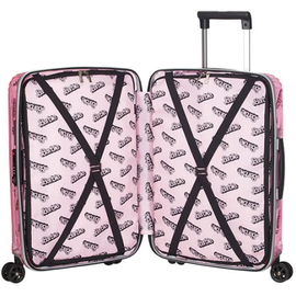 Samsonite Neopulse 4-Rollen Cabin 55 cm / 44 l barbie transparent pink