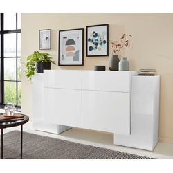 Tecnos Sideboard Pillon, Breite 170 cm weiß