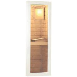 Karibu Saunafenster, klar, für 38 und 40 mm Wandstärke