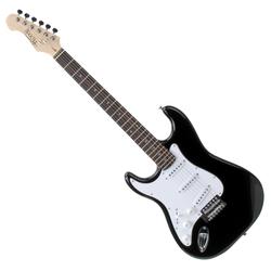 Rocktile Pro ST3-BK/RW-L Linkshänder (Lefty) E-Gitarre Black