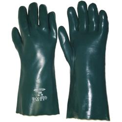 Chemikalien Schutzhandschuh Größe 10. Lange 41 cm