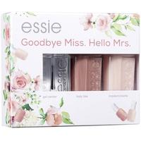 essie Nagellack-Set Bride Set Goodbye Miss. Hello Mrs., 3-tlg.